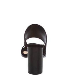 Mule Oval Black