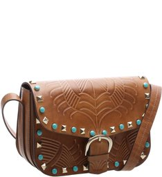 Crossbody Navajo Wood