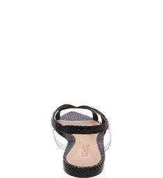 Pointy Flat Bright Snake Black
