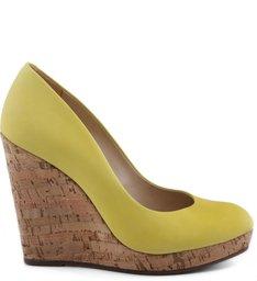 Scarpin Anabela Vibrant Yellow