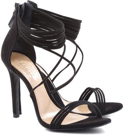Sandália Multi Straps Black