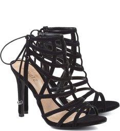 Sandália Lace Up Black