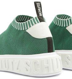 [PRÉ-VENDA] Sneaker It Schutz Bold Knit Green