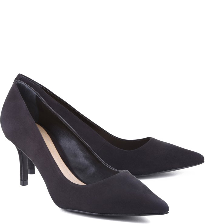 Scarpin Honey Black