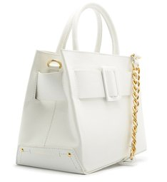BUCKLE BAG TOTE WHITE