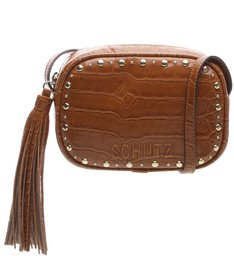 Pré-Venda Baby Crossbody Kate Croco Wood