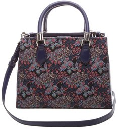Mini Tote Lorena Fantasy Dress Blue