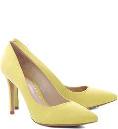 Scarpin Basic Vibrant Yellow