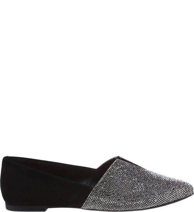 Mocassim Black Glitter Glam