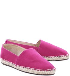 Flat Espadrille Pink