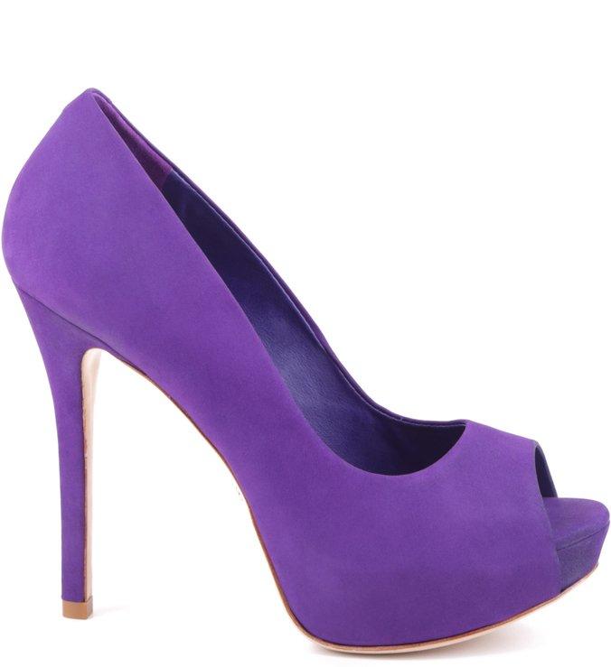 Peep Toe Glam Violeta