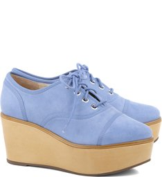 Oxford Flatform Jeans