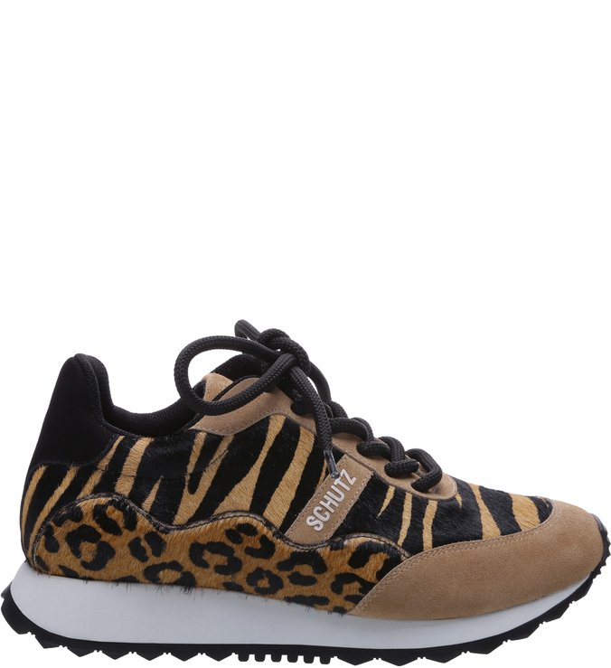 50be766be Tênis Retro Mood Animal Print Mix