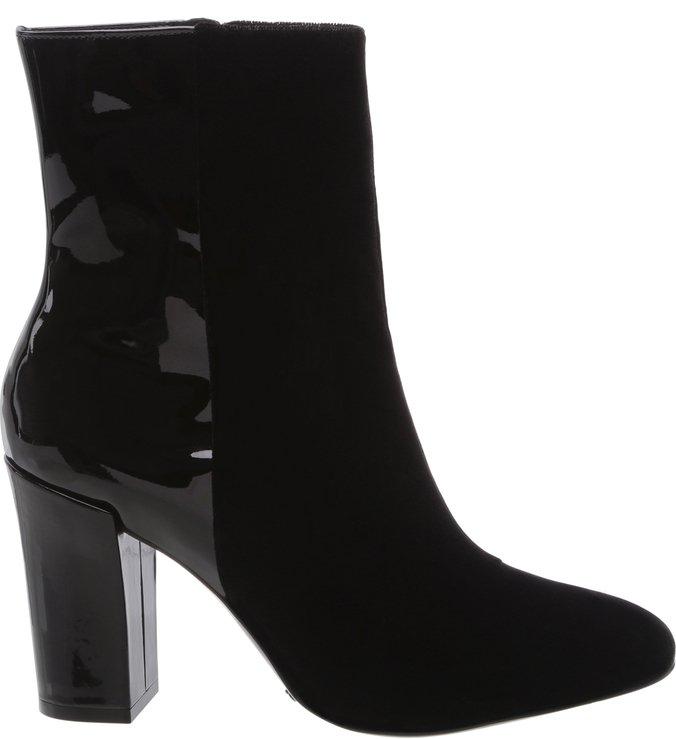 Varnish Velvet Boot Black