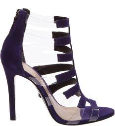 Sandália Stripes Vinil Purple