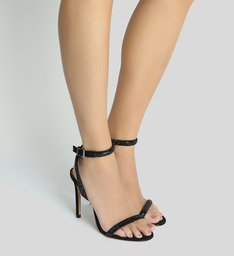 Sandália Minimal Glam Black