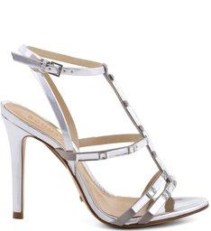 Sandália Metallic Glam Prata