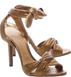 Sandália Knot Bronze