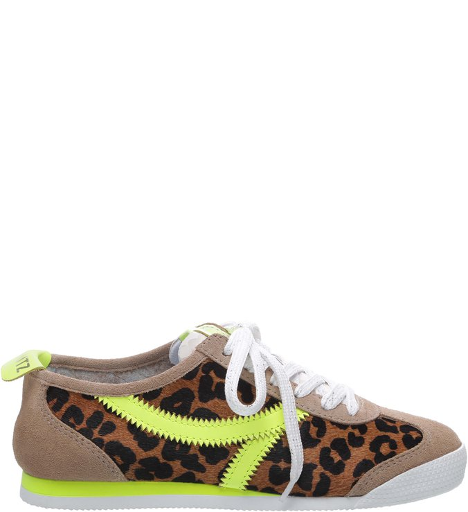 f49ef3ad3 Tênis S-FUN Animal Print Neon