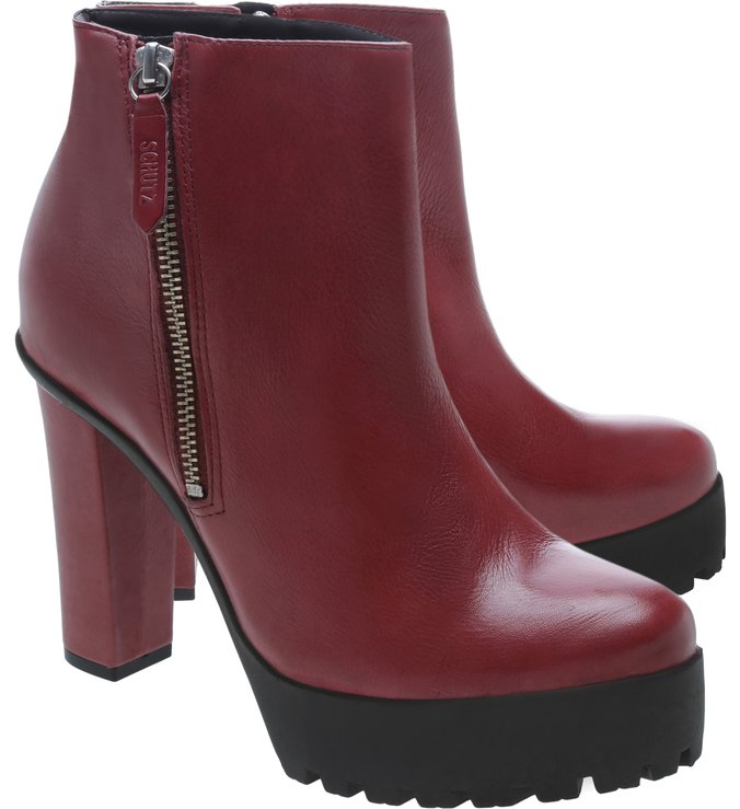 Combat Boots Tratorado Red
