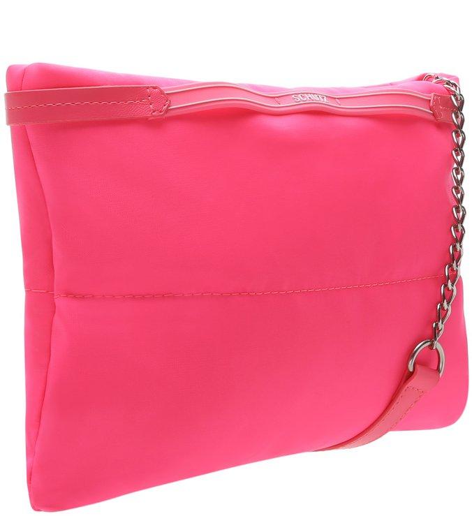 PRÉ VENDA Crossbody Fluffy Neon Pink