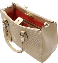 Tote Lorena Straw Natural