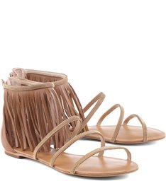 Flat Fringes Glam Rock Camel