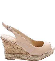 Wedge Slingback Tanino