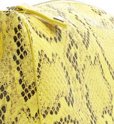 Crossbody Lili Python Yellow