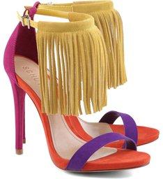 Sandália Fringes Colorful