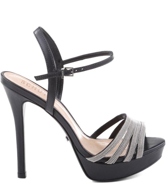 Sandália Slim Stripes Black