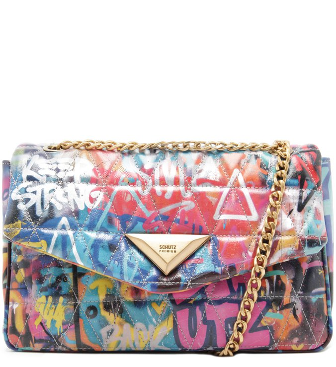 Shoulder Bag Matelassê Street Art | Schutz