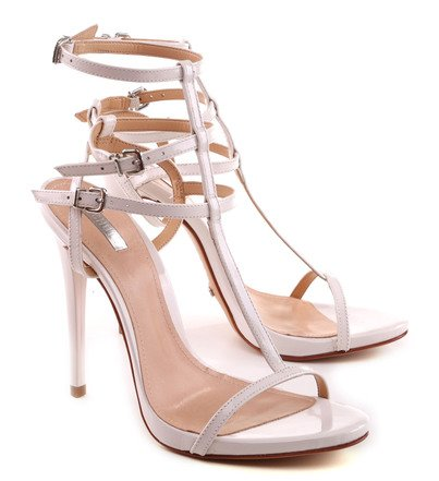 Sandália Gladiadora Branca