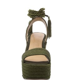Plataforma Braid Militar Green