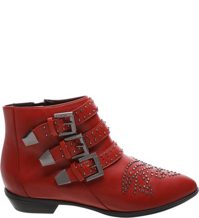 PRÉ-VENDA RED CRUSH Bota Western Studs Scarlet