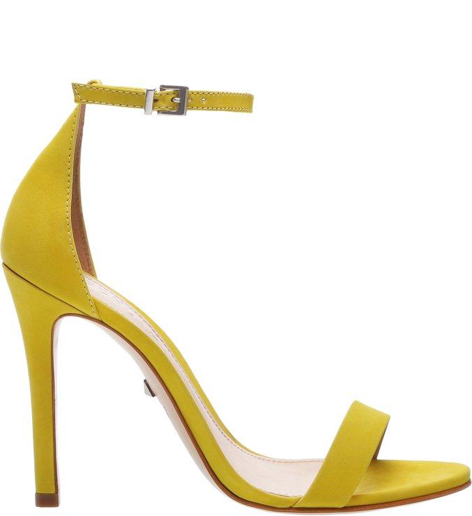 Sandália Gisele Nobuck Yellow