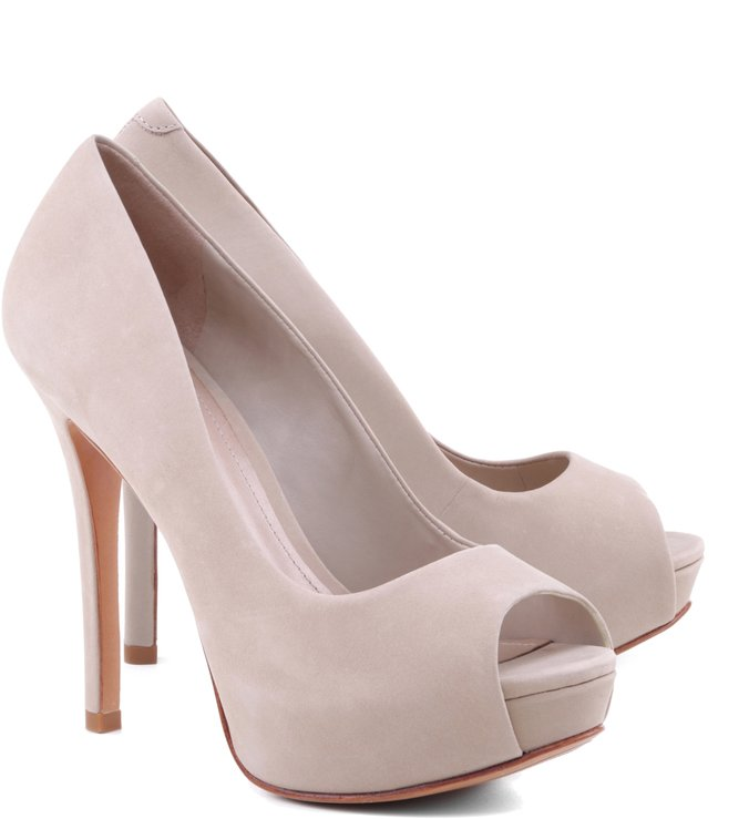 Peep Toe Basic Love Oyster