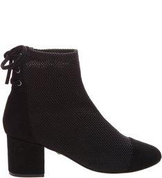 Boots Block Heel Black