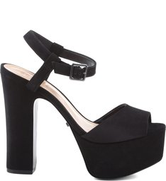 Sandália 70'S Heel Black