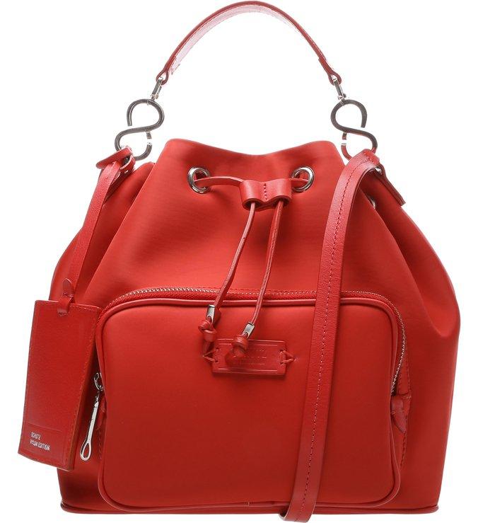 Bucket Bag Nylon Red | Schutz