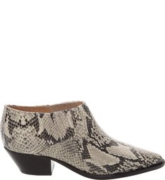 New Western Cut Boot Croco Snake