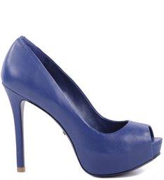 Peep Toe Blue