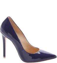Scarpin Hot Heels Dress Blue