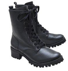 Combat Boots  Black Pre-Fall