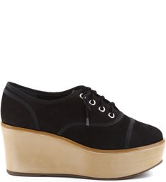 Oxford Flatform Black