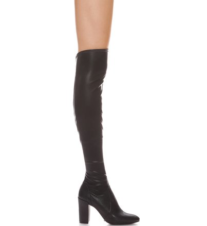 Strech Boot Over The Knee Black