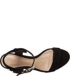 Sandália Metallic Heel Minimal Black