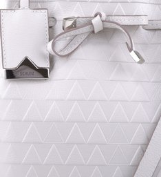 Mini Bucket Emily Triangle Pearl - Personalização Bag Charm