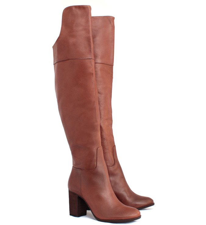Bota Over The Knee Chocolate