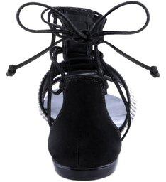 Sandália Shine Bandage Black